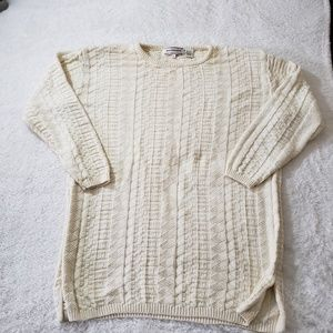 VTG westbound casual Sweater cream size L